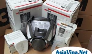 Mặt nạ chống độc 3m-6800 chính hãng